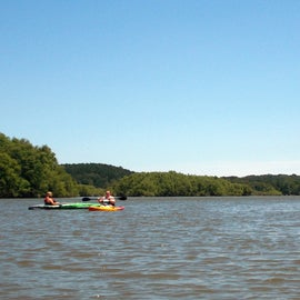 The biggest attraction for us was kayaking on the river.