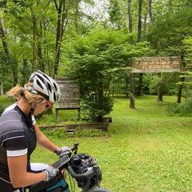 Round Bottom Camping Area at Slush Run
