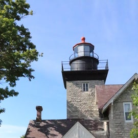 The lighthouse at Golden Hill State Park.