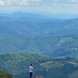Views into the Smokies of North Carolina