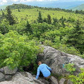 The Wilburn Ridge Trail offers some scrambling, but the views are well worth the effort.