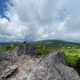 Views from knob 2 on the Wilburn Ridge Trail