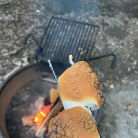 What is camping without S'mores...and dare I say perfectly toasted marshmallows?