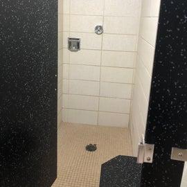 Shower in the women's bathroom Coneflower Loop