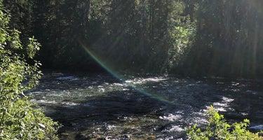Salmon la Sac Road Dispersed Camping
