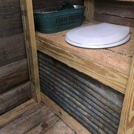 Outhouse! Composting potty
