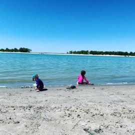 Beach fun at Lake McConaughy