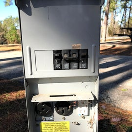 Electrical box and cable