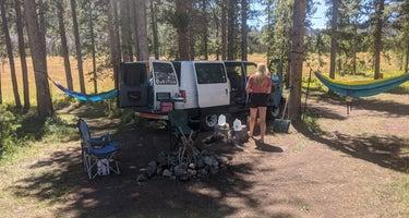 Uinta Dispersed Campsites