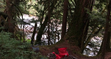 Old Cascades Highway Dispersed