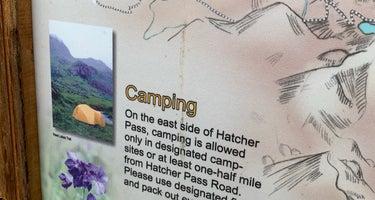 Gold Mint Hut Trailhead