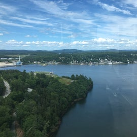 The view from Fort Knox Observatory