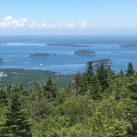 View from Cadillac Mtn