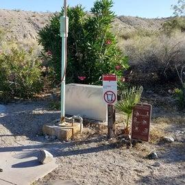 RV dump station remains open