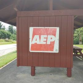 AEP information hut