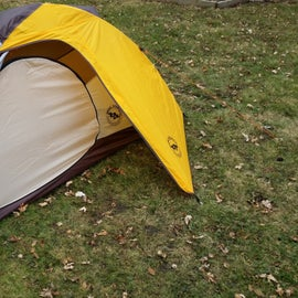 """Great place to """"practice"""" cold weather camping if it's not too far from your home."""