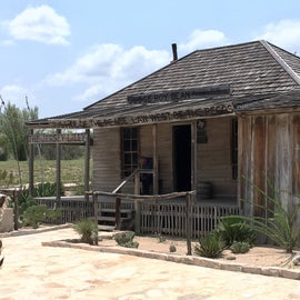 The Judge Roy Bean museum is an interesting look back at history regarding the Law West of the Pecos.
