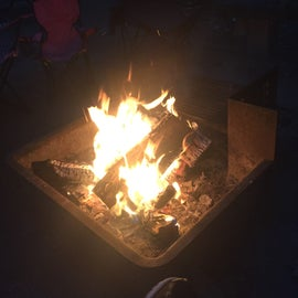 Nothing like telling good ghost stories around a fire