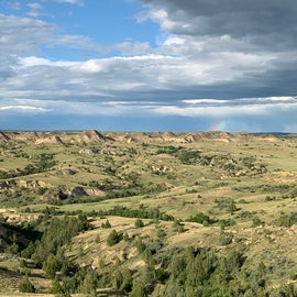 Incredible view of this part of the Little Missouri National Grasslands.
