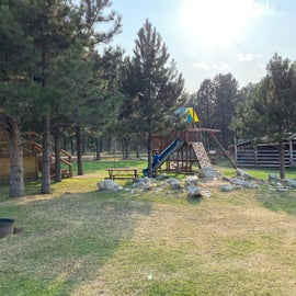 The playground my kids frequented