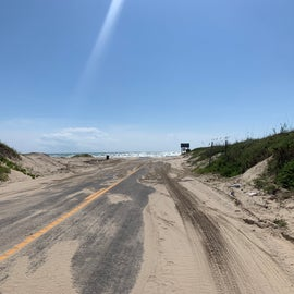 Entry Road to the Beach