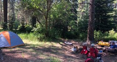Deschutes National Forest Camp Sherman Campground