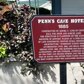 Penn's Cave hotel