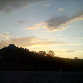 Sunset from Greystone Campground