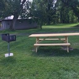 Handicapped accessible picnic spot