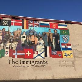 Fantastic mural in Aberdeen... also home of Kurt Cobain!