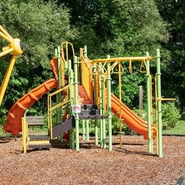 The playground near the beach