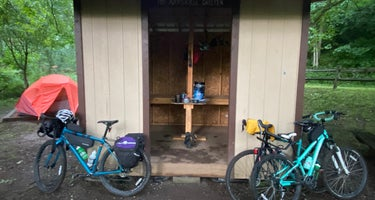 Greenbrier River Trail Mile Post 28.5 Primitive Campsite
