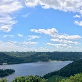 View from Brady's Bluff