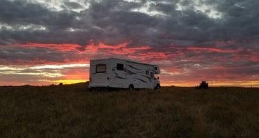 Scoria Pit Dispersed Camping