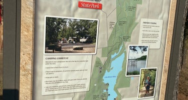 Lake Mineral Wells State Park - Plateau