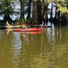 Kayak rental was $8 an hour, teens loved it!