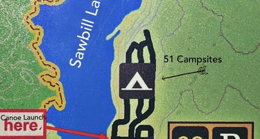 Sawbill Lake Campground - Superior National Forest