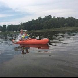 Nice lake for kayaking.
