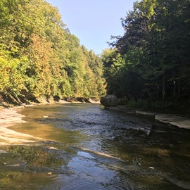Whitaker has flat expanses to wade in and gorges to explore