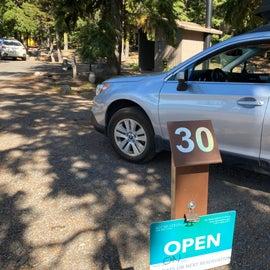Site 30 with bathroom next door