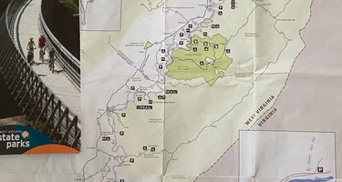 Greenbrier River Trail Mile Post 49.3 Primitive Campsite