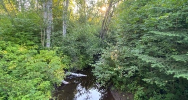 Dyers Creek Campsite, Superior Hiking Trail