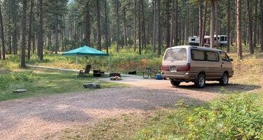 Pactola Reservoir Campground