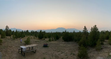 White River National Forest Prospector Campground