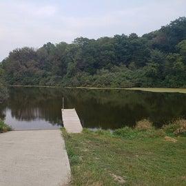 The pond inside park