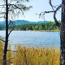 Walk around the lake