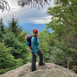 Hiking the nearby Canty Trail