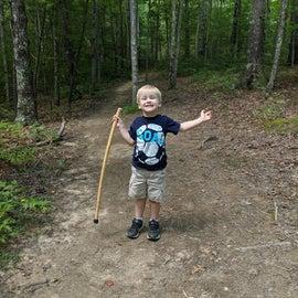 Campground trails were great