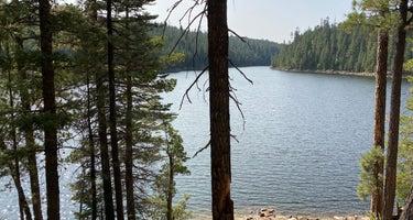 Bear Canyon Lake and Camping Area