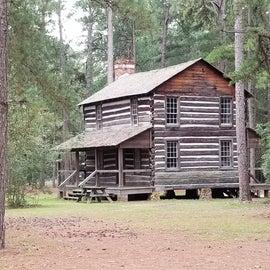 266-year old log cabin